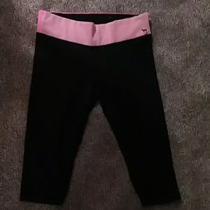 PINK VS YOGA pants.